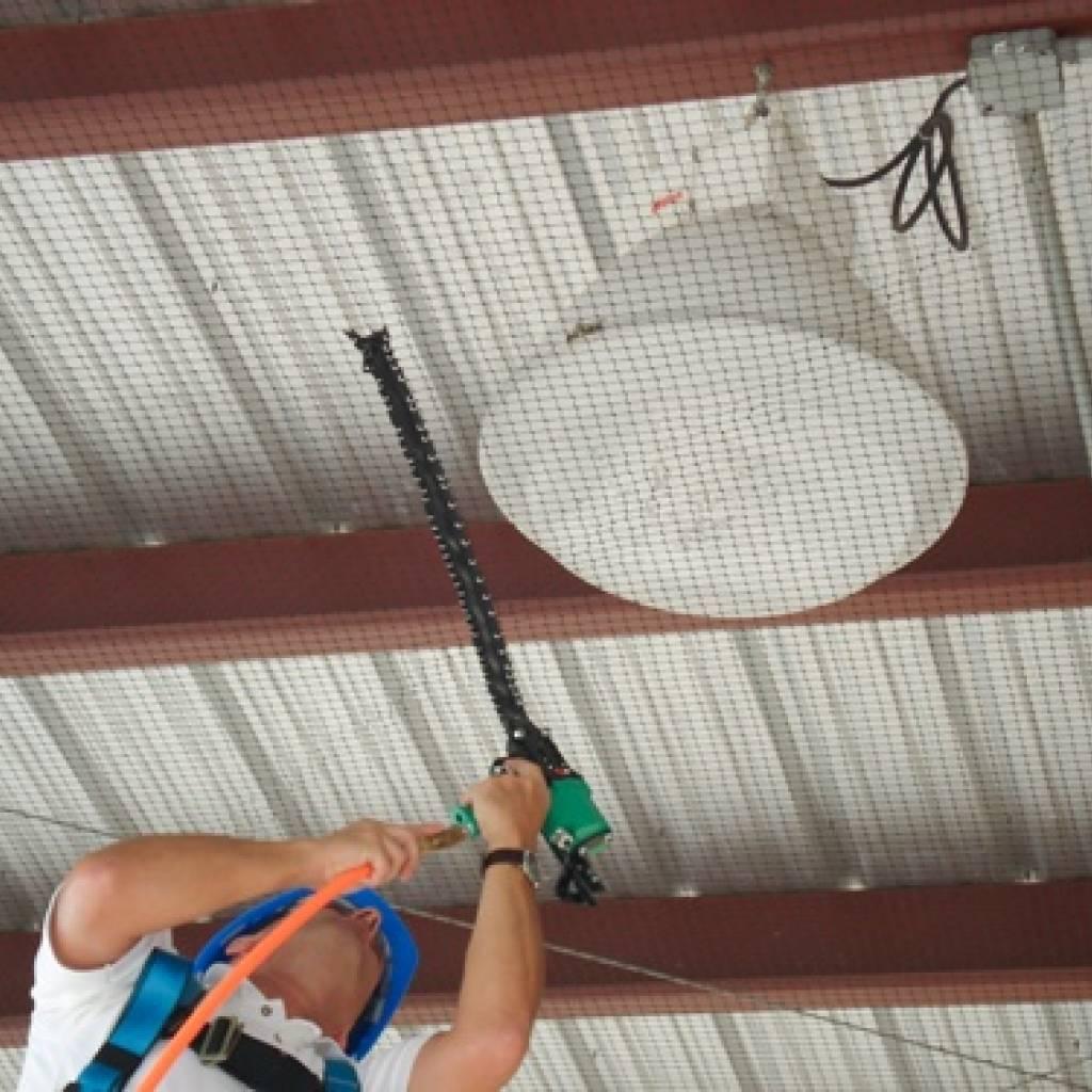 Redes para control de aves