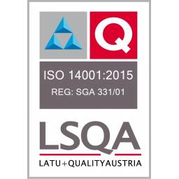 Certificado LSQA LATU ISO 14001:2015